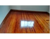 manutenção de pisos de madeira na Água Azul
