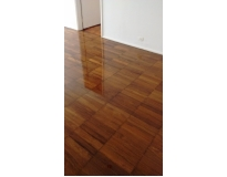 quanto custa raspagem de piso de madeira sem pó no Campo Grande