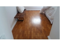 quanto custa restauração de piso de madeira laminado na Bananal
