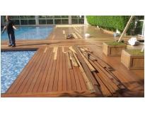 raspagem de deck de madeira preço na Arco-Verde