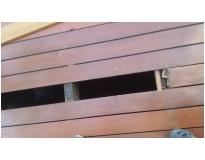 raspagem de decks de madeira na Vila Anastácio