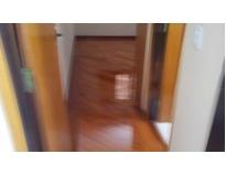 raspagem e aplicação de bona em piso de madeira Condomínio Veigas