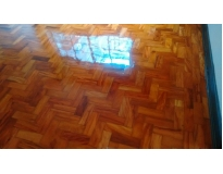 restauração de piso de madeira laminado no Campo Grande