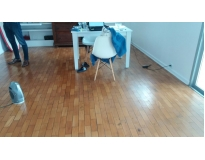 restauração de pisos de madeira na Picanço